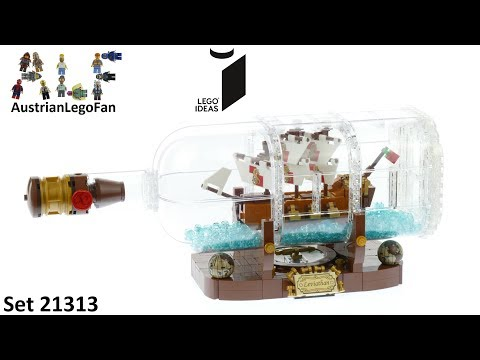 Lego Ideas 21313 Ship in a Bottle - Lego Speed Build Review