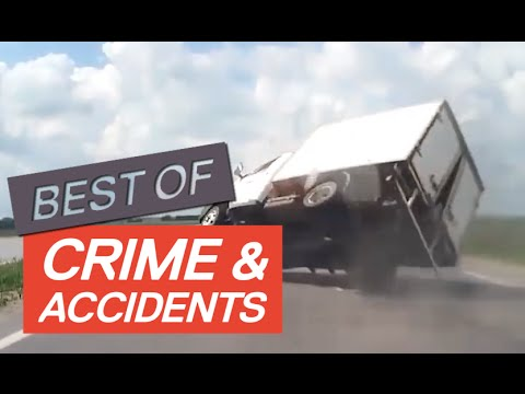 CRIME & ACCIDENT COMPILATION 2016 - Newsflare