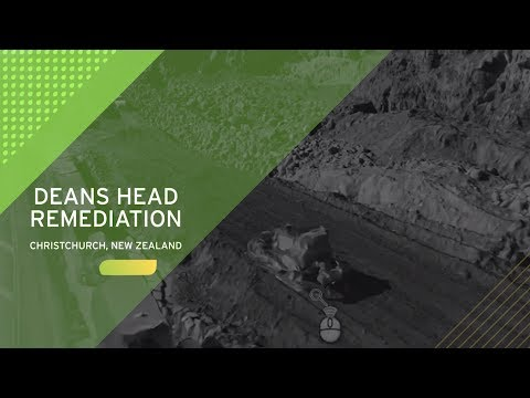 Dean's Head Remediation - Christchurch, New Zealand