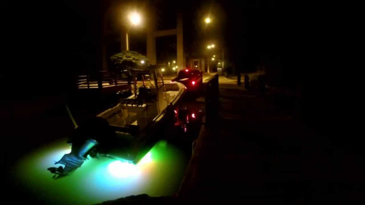 boat ramp tb22 and tb11 underwater boat lights green blue, Reel Combo