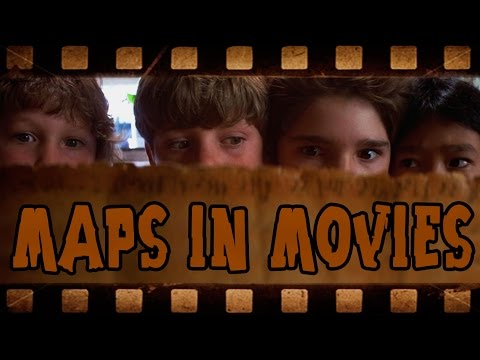 This is an Adventure (Maps in Movies)