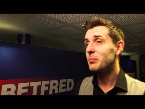 Interview with Betfred World Snooker Champion Mark Selby