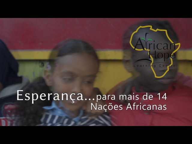 Esperança para crianças refugiadas no Norte da África