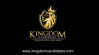Kingdom Candidates: Church Staffing Made Simple
