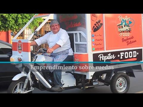 El Sabor Viaja En Moto