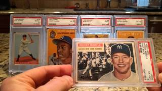 Mickey Mantle Baseball Card Collection