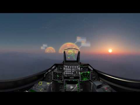 3-D 360 Experience with electronic warfare