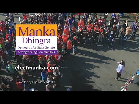 Join your neighbors in supporting Manka!