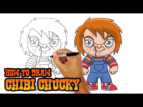 How to Draw Chucky | Child's Play