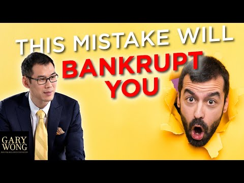The Business Mistake That'll Bankrupt You