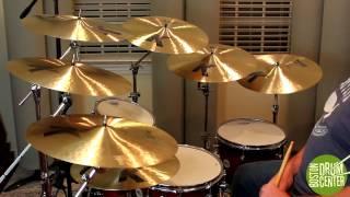 """Zildjian K Dark Crashes Thin vs. Medium Thin: 16"""", 17"""" & 18"""""""