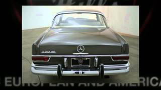 1964 Mercedes-Benz 220SE Sunroof Coupe For Sale!