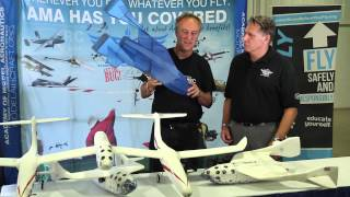 RUTAN RC at RCX // AMA Museum Donation of First SS1 Model
