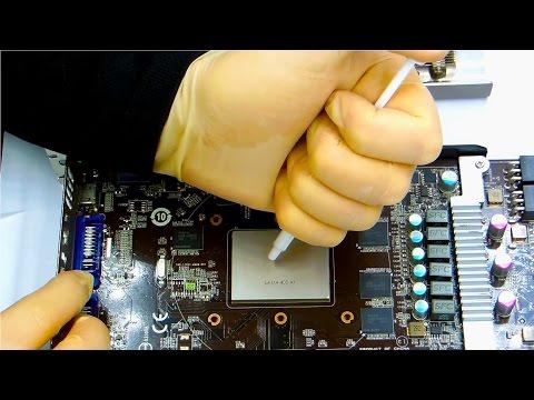GPU Repair Nvidia Geforce gtx560 Ti - MSI twin frozr 2