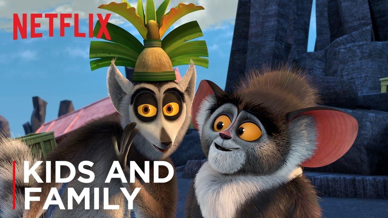 All Hail King Julien Teaser Uk Ireland Netflix Youtube