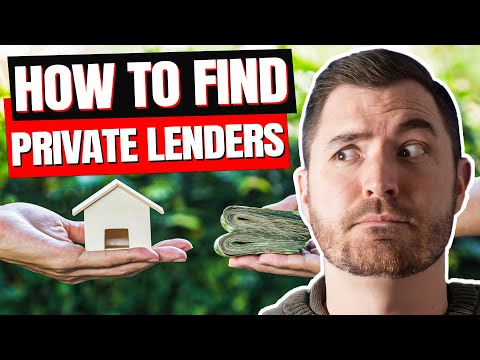 How to Find Private Money Lenders for Real Estate Investing in 2020
