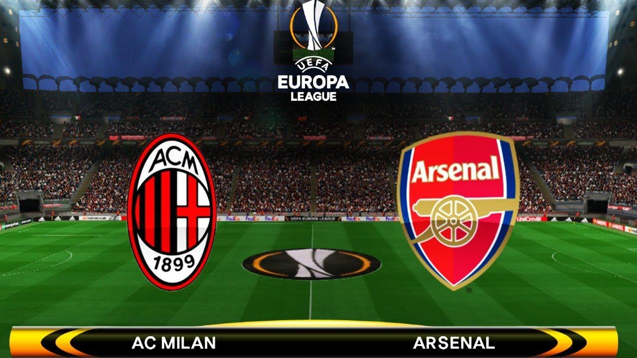 AC Milan vs Arsenal | UEFA Europa League 2018 | Full Match | PES Gameplay  PC HD - YouTube