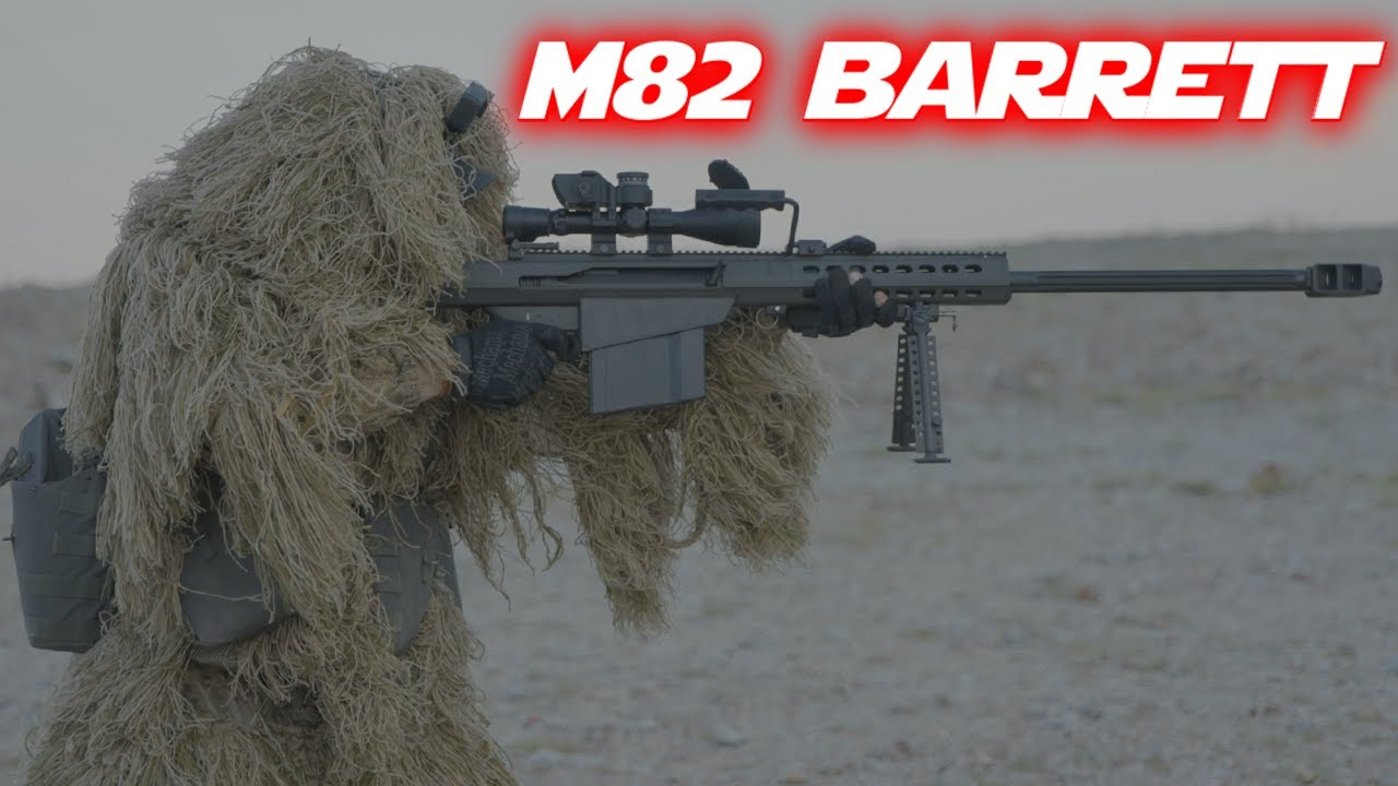 All Ghillied Up At The Range - Barrett M82 + Full Auto MP5 (Ft Administrative Results)