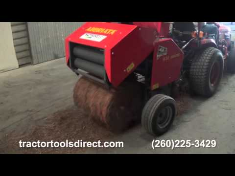 Tractor Tools Direct - Pine Straw Baler Demonstration Video