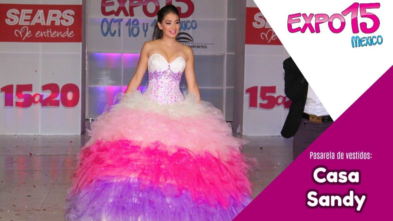 Expo 15 Pasarela vestidos 15 años Eos Cordero Oct 14 - YouTube