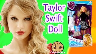 Taylor Swift Celebrity Fashion Doll & Barbie Rock 'N Royals Toy Review Unboxing Video - Cookieswirlc