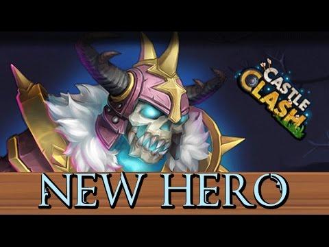 Castle Clash Skull Knight NEW HERO!