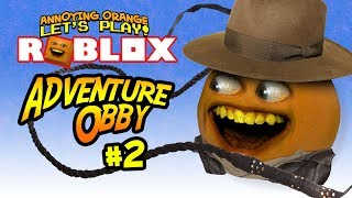 Roblox: ADVENTURE Obby #2 [Annoying Orange Plays]