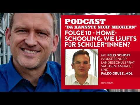 Podcast - Folge 10 - Homeschooling: Wie läuft�s für Schüler*innen? (mit Felix Schopf)