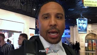 ANDRE WARD ANALYZES FURY'S KO WIN; SAYS JOSHUA NOT SHOWING HES WORTHY TO BE IN TOP 3 OF HEAVYWEIGHT