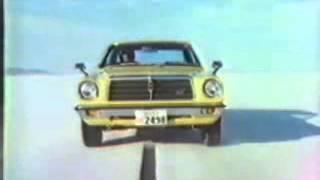 トヨタ自動車・チェイサーのCM。1978年。草刈正雄.