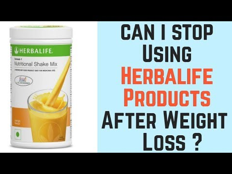 क य Weight Loss क ब द हम Products छ ड सकत ह Can I Stop Using Herbalife After Weight Loss