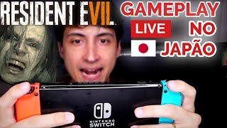 Gameplay de Resident Evil 7 cloud no Japão ao vivo - Dock e Portátil