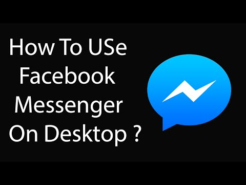 How To Use Facebook Messenger On Desktop Officially ?
