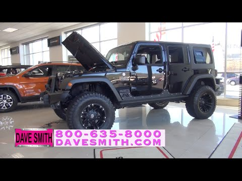 Customized 2015 jeep wrangler unlimited rubicon 4x4 at for Dave smith motors jeep