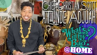 Chief Christian Scott aTunde Adjuah - What's In My Bag? [Home Edition]