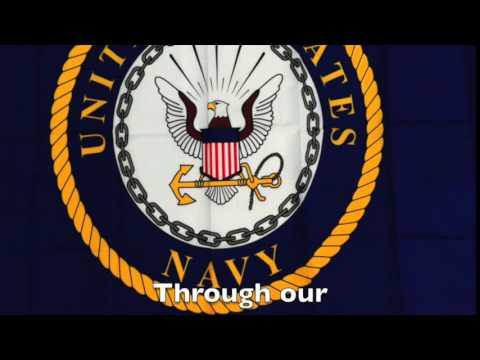 The Official Navy Hymn Karaoke