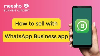 How to sell with the whatsapp business Feature
