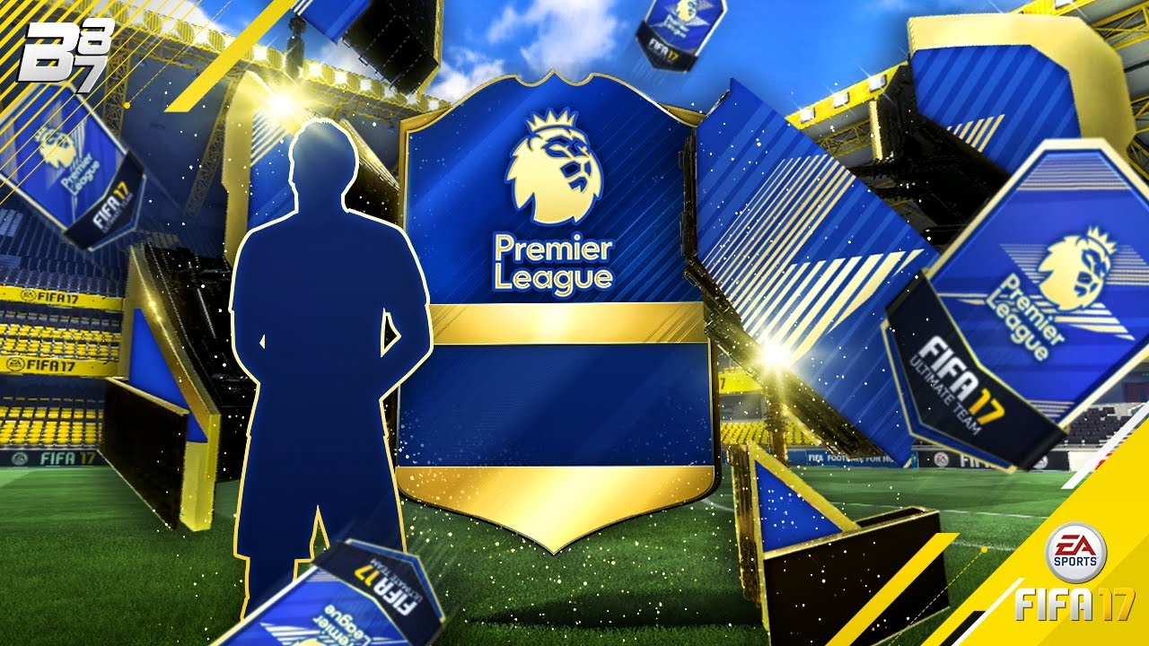 PREMIER LEAGUE TOTS IN A PACK!!!!   FIFA 17 - YouTube