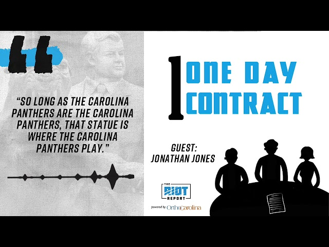 One Day Contract On The Jerry Richardson Statue