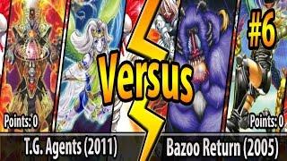 T.G. Agents (2011) vs. Bazoo Return (2005) - Cross-Banlist Cup 2017 - Match #6