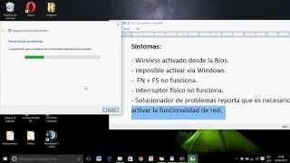 Solución problema FN+F5 WIFI off apagado lenovo ideapad z475 con  Windows 10