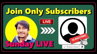Sunday LIVE | Join Only Subscriber | Satish Abrod Jobs & Vlogs