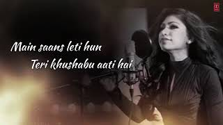 Female Love Status||Main saans leti hu teri Khushboo ati hai on female voice status ||😍😍😍😍😍😍