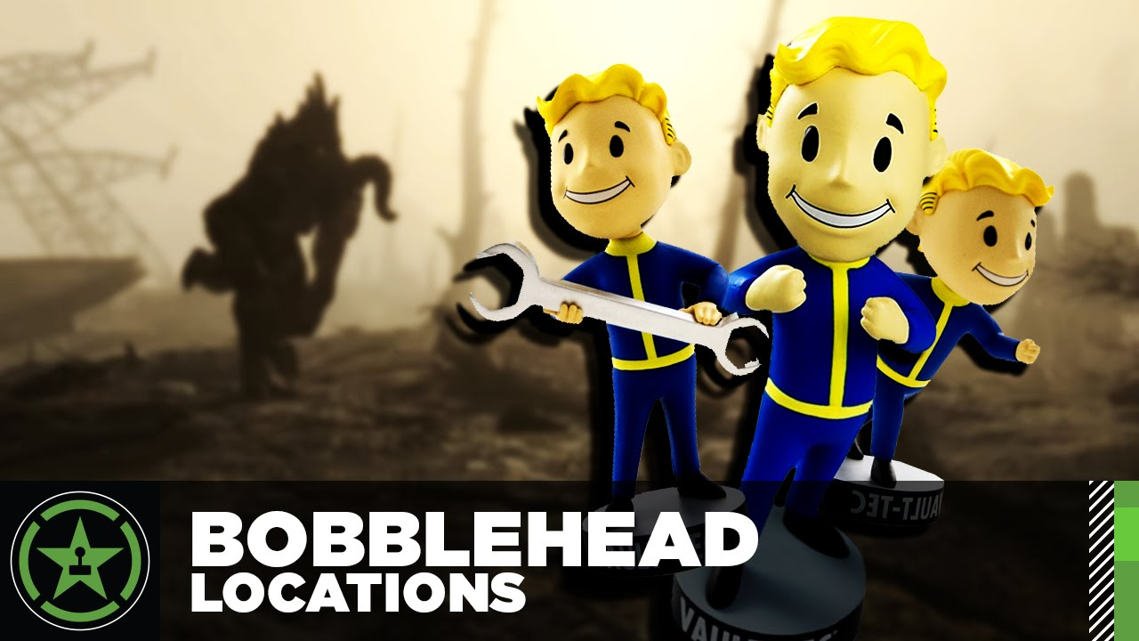 all bobblehead locations fallout 4 youtube