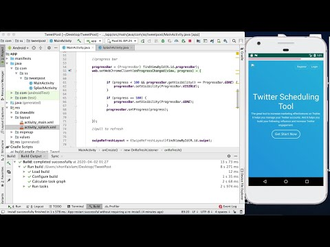 Stop Reload On Screen Rotation || Convert Website Into Android App Part 9 || Android Studio || 2020