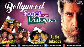 Bollywood Songs With Dialogues | Amitabh Bachchan | Shah Rukh | Salman Khan |Bollywood Hindi Songs