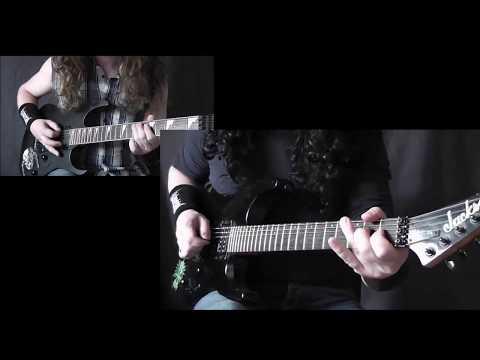 Megadeth - Symphony Of Destruction - dual - guitar- cover (All Parts)