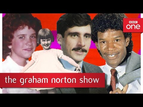 Old photos of Dame Judi Dench, Jamie Foxx, Steve Carell and Kristen Wiig - The Graham Norton Show