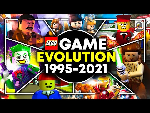 Evolution Of LEGO Games From 1995-2021 |