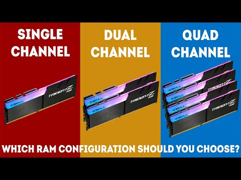 Single Channel vs Dual Channel vs Quad Channel Memory (2019) [Simple Guide]